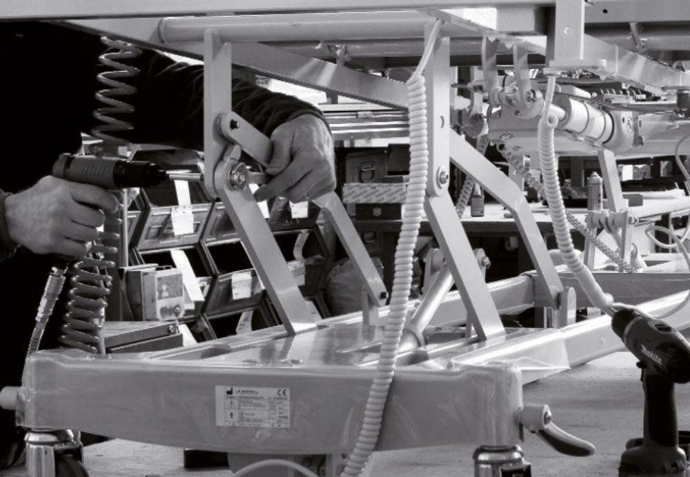 realizzazione mobili per ospedale
